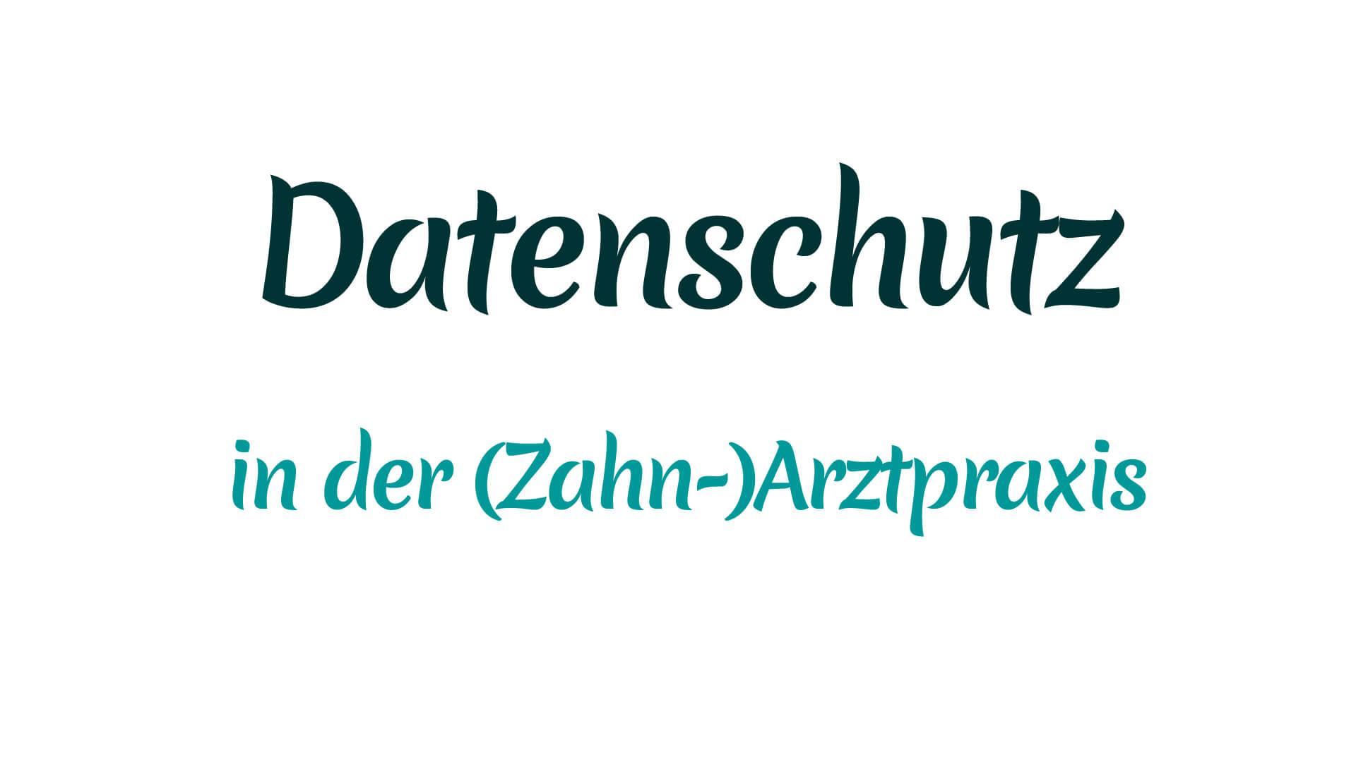 Datenschutz in der (Zahn-)Arztpraxis mit Heike Mareck