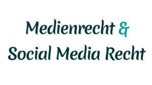 Medienrecht und Social Media Recht mit Heike Mareck
